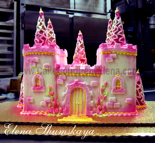 princess castle birthday cakes